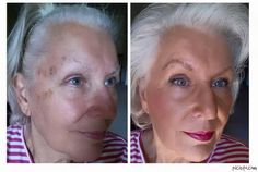 "Ysista Patricia Carver showing how easily age spots can be hidden, to create eye brows and to cause short lashes to look fab with our 3D+. Only 5-10 minute look. Shop and order online: www.beautybysj.com ""I ALWAYS use Divine and Glorious as my first step ... this is HONEY BB Cream with SATIN Touch Powder, SWEET Pressed Blusher, SKITTISH Lip Stain, LAVISH Lip Gloss, the NEW Precision Brow liner and Gel in LIGHT and of course our 3D+ mascara."""