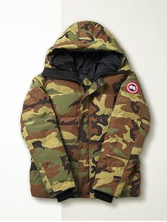 Canada Goose's camo parka is our hero cover-up for the modern-day explorer. Your armour against winter's toughest weather, this heavy-duty design combines a cosy duck-down filling with a hardy water-repellent exterior, finger-warming fleece-lined pockets and draft-excluding ribbed-knit cuffs. If a more pared-back design is on your agenda, explore our pick of the season's hardwearing coats and parkas – ready and waiting for the very worst winter can throw at them.