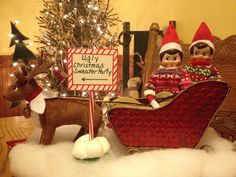 Elf on the Shelf…Ugly Christmas Sweater Party