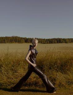 linn arvidsson by benjamin vnuk for crash magazine! | visual optimism; fashion editorials, shows, campaigns & more!