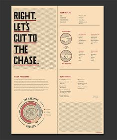 Resume Design Inspiration 27 Beautiful Résumé Designs You'll Want To Steal  Grid  Layout