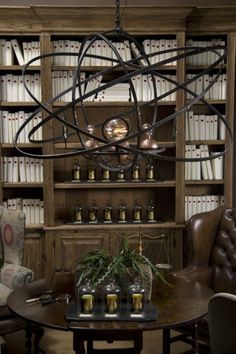 steampunk interior design found on greigedesignblogspotcom