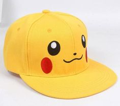 Pokemon Pikachu Snapback Baseball Cap