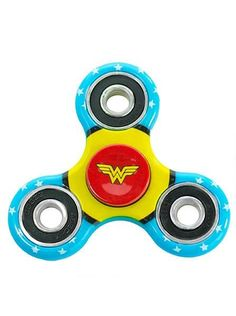 """Wonder Woman"" Fidget Spinner (Aqua)"