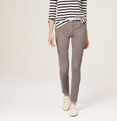 Really liking the grey corduroy @stitchfix   Petite Skinny Corduroy Pants in Marisa Fit | Loft