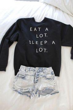 Teenage Fashion Blog: Eat # Sleep # Outfit: