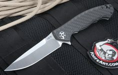 Based off the original, limited edition Zero Tolerance 0454 knife designed by the award-winning knife designer Dmitry Sinkevich, the new Zero Tolerance 0452CF Sinkevich Design Folding Knife with flipper maintains the original elegance and strength, with improved performance and strength- brought out in 2015.
