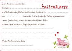 bags'n style: ballonkarten zur hochzeit - balloon cards for the wedding