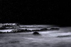 Where the sea meets the stars by Panagiotis Zoulakis on Northern Lights, My Photos, Meet, Stars, Nature, Travel, Naturaleza, Viajes, Aurora