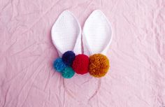 EASTER BUNNY HEADBAND THAT WONT FLOP | FREE CROCHET PATTERN