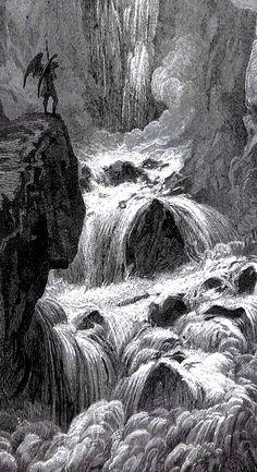 DORÉ Gustave (1832-1883) Illustration for John Milton's Paradise Lost