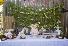 The Secret Garden Birthday Party Ideas | Photo 2 of 18 | Catch My Party