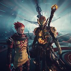 """""""Does your War Within continue to rage? Did you make the right choices?"""" #nerdwannabe #Warframe #TheWarWithin #Wukong #XingZhe #AltHelmet #Tenno #digitalextremes"""
