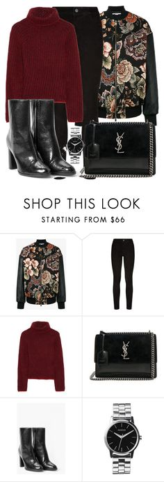 """Untitled #5150"" by beatrizvilar on Polyvore featuring STELLA McCARTNEY, Paige Denim, Etro, Yves Saint Laurent, MANGO and Nixon"
