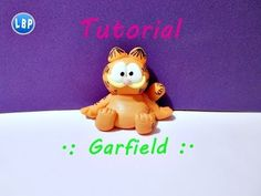 ▶ Garfield Tutorial facil / polymer clay/ pasta flexible / porcelana fria - YouTube
