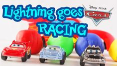 Lightning Mcqueen and friends race to the finish line How to build a race track from Playdough. Diy with Playdough, Lightning Mcqueen, Disney, Cars Pixar. Fun learning colors and educational videos for kids and toddlers. Learning Colors, Fun Learning, Teaching Kids, Toddler Videos, Kids Videos, Lightning Mcqueen, Disney Toys, Educational Videos, Play Doh