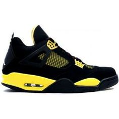 cheap for discount 329d3 1200b Air Jordan Retro 4 ls thunder black tour yellow white 314254 cheap Jordan  If you want to look Air Jordan Retro 4 ls thunder black tour yellow white  314254 ...