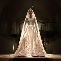 Wedding dress worn by Princess Marie Chantal of Greece