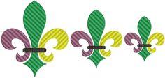 Fleur de Lis Machine Embroidery Designs