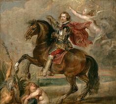 Rubens - Equestrian Portrait of the Duke of Buckingham (1625); Kimbell Art Museum, Ft. Worth, Texas