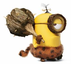 Everyone beware of the cro-minion at work today, he's a little grumpy to be back at work. Amor Minions, Despicable Minions, Cute Minions, Minion Movie, Minions Quotes, Anti Social, Minion I Love You, Pierre Coffin, Minion Humour