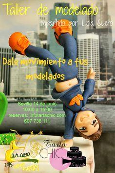 Tarta Chic: CURSO DE MODELADO CON FONDANT CON LOLA CUETO JUNIO... Movie Posters, Movies, Role Models, Fondant Cakes, June, Sevilla, Films, Film, Movie