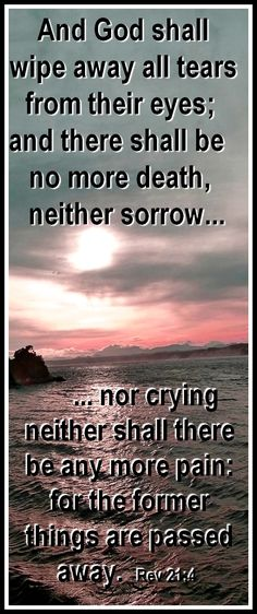 #bible #heaven #death ....  And GOD SHALL WIPE AWAY ALL TEARS...    https://lifeonit.com/?invite=1027009