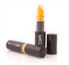 "KA'OIR By Keyshia KAOIR ""Banana Milkshake"" Bright Yellow Lipstick by KA'OIR Cosmetics, http://www.amazon.com/dp/B005G40MW6/ref=cm_sw_r_pi_dp_Y2lDpb19X72YV/180-3608763-8220910"