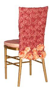 Lucy Honeysuckle Chivari Chair Back w/Flowers