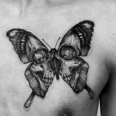 ✖ Art by: @bk_tattooer #blackwork #sketch #draw #drawing #darkwork #neotrad #pointillism #dotwork #illustration #fineart #tattoosketch #ink #inked #tattooer #tattooartist #tattooist #linework #fineline #tattooflash #girltattoo #blackworkers #artwork #tattooidea #tattoo #tattooed #butterfly #skull #skulltattoo #blxckink #blackworkerssubmission