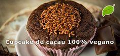 É isso mesmo! É perfeitamente possível fazer um cupcake vegano delicioso de cacau, sem perder em nada para a versão tradicional. Não acredita? Então veja!