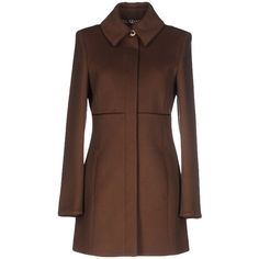 2fe75981b9 Patrizia Pepe Coat (330 CAD) ❤ liked on Polyvore featuring outerwear