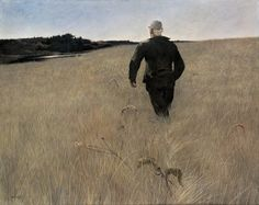Andrew Wyeth, Turkey Pond, 1944, tempera on panel, Gift of Mr. and Mrs. Andrew Wyeth in memory of Walter Anderson, 1995 | Farnsworth Art Museum