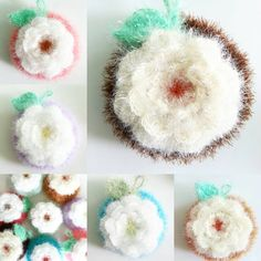 #메리제인 님의 #백장미수세미 수세미실 많은데도 백장미수세미 너무 예뻐 세트구매~ 역시 꽃은 어디나 진리~♡ #뜨개질 #코바늘 #수세미 #crochet #dishsponge