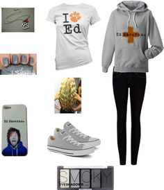 """going all out ed sheeran:D"" by niccisturgeon ❤ liked on Polyvore"
