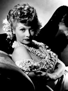 Lucille Ball does Hawaiian, 1940s