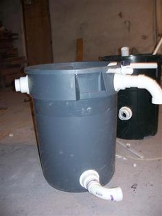 Umbrella rec diy pond filter ideas for the house for Outdoor fish tank filter