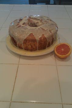 Tangerine Angelfood Cake