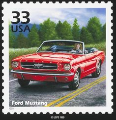 Ford Mustang 1999 stamp