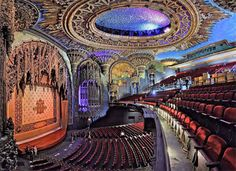 Another grand old movie palace in downtown Los Angeles has been restored and renovated and will be open to movie and theater audiences once again.  The original United Artists Theatre on Broadway is now The Theatre at Ace Hotel and will host an open house this coming Saturday for movie lovers and theater buffs.