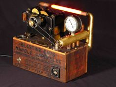 """latin steampunk   Nobel 's Giftaus"""" (steampunk latin for """"gift to us""""), an interactive ..."""