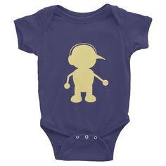 Mellow Yellow MiniJack - Infant short sleeve one-piece