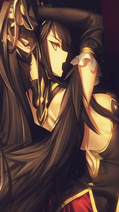 Assassin of Red - Semiramis Pretty Anime Girl, Anime Art Girl, Manga Girl, Anime Girls, Semiramis Fate, Character Art, Character Design, Amakusa, Super Anime