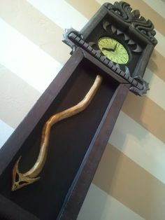 Ask not for who the creepy fanged clock tolls...