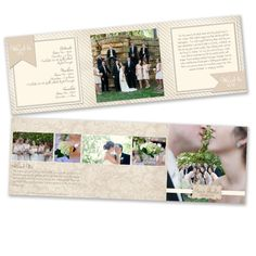 Photography Marketing  5x5 Trifold Brochure di rememberwhendesign, $16.00