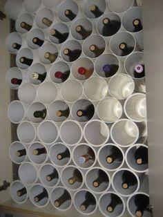 Homemade wine rack wine rack plans from diy wine rack pallet plans Wood Wine Racks, Wine Rack Wall, Dyi Wine Rack, Homemade Wine Racks, Make Your Own Wine, Make It Yourself, Wine Rack Inspiration, Wine Rack Design, Wine Rack Plans