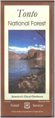 Tonto National Forest Map  Paper *** Check out this great product.(This is an Amazon affiliate link and I receive a commission for the sales)