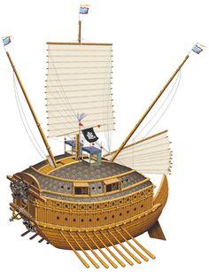 1592-1598 Korean Turtle ship
