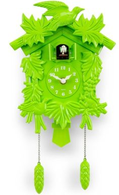 Perfect Cuckoo Clock Craft Coloring Page - coloringpage Neon Green, Green Colors, Colours, Kitsch, Color Verde Claro, Clock Craft, Color Of The Year, Shades Of Green, My Favorite Color