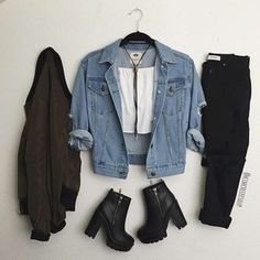 Imagen de outfit, fashion, and style
